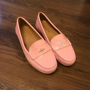 Coach Loafers Pink size 7